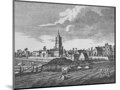 Hackney, c1790 (1911)-Unknown-Mounted Giclee Print