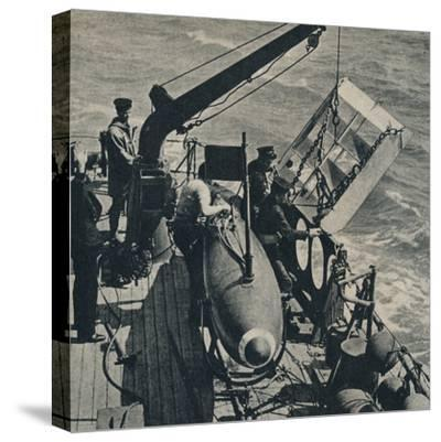 'Out Sweep' 1943-Unknown-Stretched Canvas Print