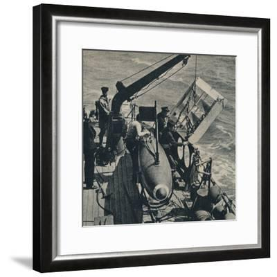 'Out Sweep' 1943-Unknown-Framed Photographic Print