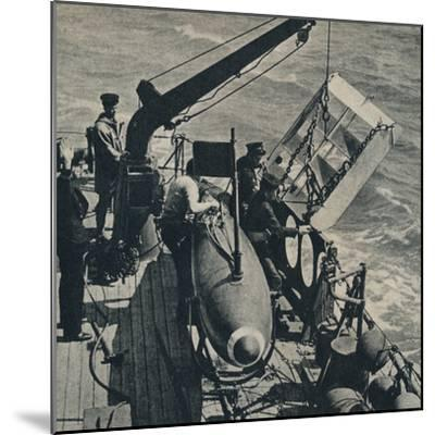 'Out Sweep' 1943-Unknown-Mounted Photographic Print
