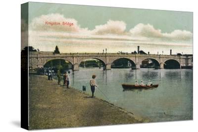'Kingston Bridge', 1908-Unknown-Stretched Canvas Print