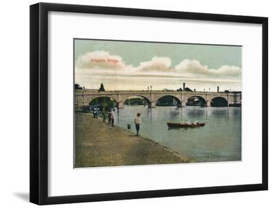 'Kingston Bridge', 1908-Unknown-Framed Giclee Print