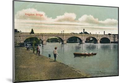 'Kingston Bridge', 1908-Unknown-Mounted Giclee Print