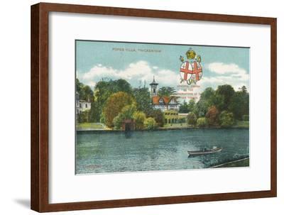 'Popes Villa, Twickenham', c1910-Unknown-Framed Giclee Print