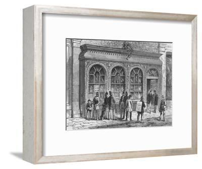 Birch's confectionery shop, Cornhill, City of London, 19th century (1911)-Unknown-Framed Giclee Print