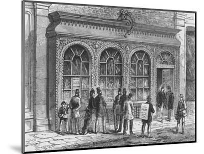 Birch's confectionery shop, Cornhill, City of London, 19th century (1911)-Unknown-Mounted Giclee Print