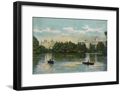 'Home Office', 1908-Unknown-Framed Giclee Print