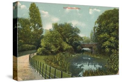 'Battersea Park', c1909-Unknown-Stretched Canvas Print