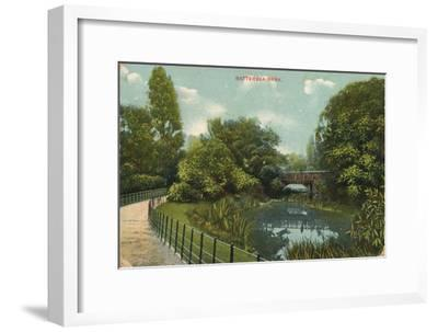 'Battersea Park', c1909-Unknown-Framed Giclee Print