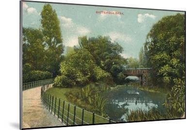 'Battersea Park', c1909-Unknown-Mounted Giclee Print