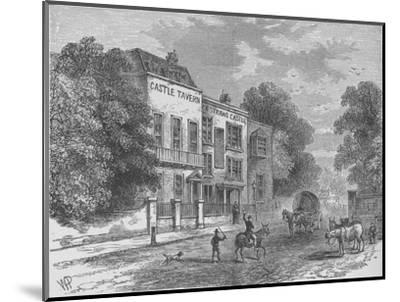 Jack Straw's Castle, Hampstead, London, c1900 (1911)-Unknown-Mounted Giclee Print