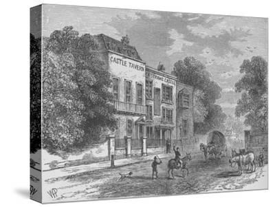 Jack Straw's Castle, Hampstead, London, c1900 (1911)-Unknown-Stretched Canvas Print