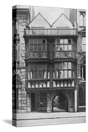Inner Temple Gate House, City of London, c1900 (1911)-Unknown-Stretched Canvas Print