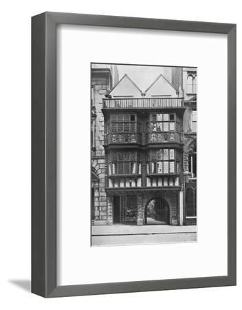 Inner Temple Gate House, City of London, c1900 (1911)-Unknown-Framed Photographic Print