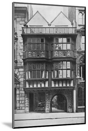 Inner Temple Gate House, City of London, c1900 (1911)-Unknown-Mounted Photographic Print