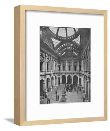 Interior of the Royal Exchange, City of London, c1910 (1911)-Unknown-Framed Photographic Print
