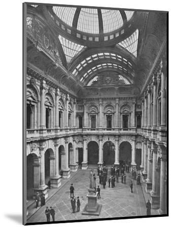 Interior of the Royal Exchange, City of London, c1910 (1911)-Unknown-Mounted Photographic Print