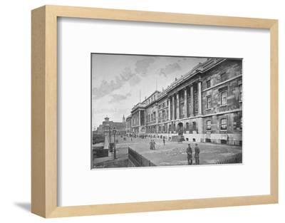 Custom House, City of London, 1911-Unknown-Framed Photographic Print