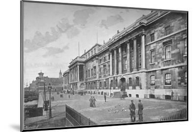 Custom House, City of London, 1911-Unknown-Mounted Photographic Print