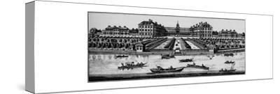 Royal Hospital, Chelsea, c1890 (1911)-Unknown-Stretched Canvas Print