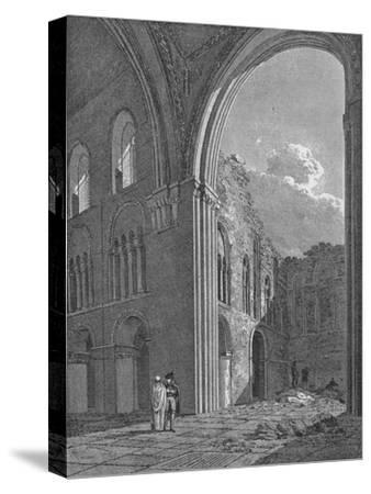 Church of St Bartholomew the Great in West Smithfield, City of London, 1822-Unknown-Stretched Canvas Print