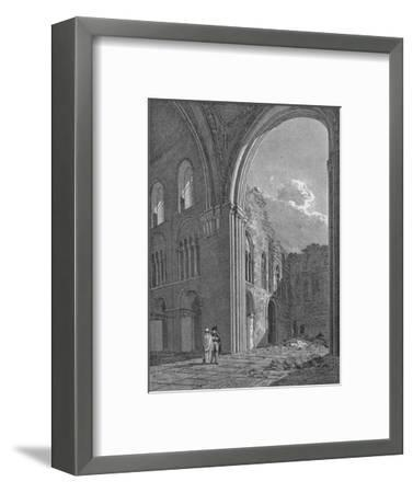 Church of St Bartholomew the Great in West Smithfield, City of London, 1822-Unknown-Framed Giclee Print