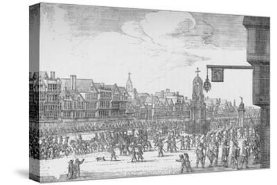 Queen Henrietta Maria's Entry into London, 1625 (1903)-Unknown-Stretched Canvas Print