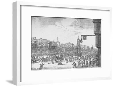 Queen Henrietta Maria's Entry into London, 1625 (1903)-Unknown-Framed Giclee Print