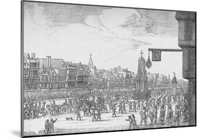 Queen Henrietta Maria's Entry into London, 1625 (1903)-Unknown-Mounted Giclee Print