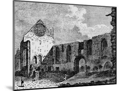 North-west view of the ruins of Winchester Palace, Southwark, London, c1900-Unknown-Mounted Giclee Print
