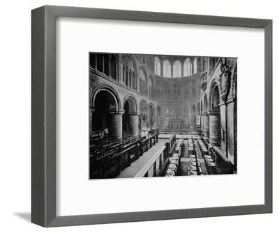 Interior of the Church of St Bartholomew the Great, West Smithfield, City of London, 1906-Unknown-Framed Photographic Print