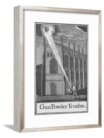 'Gun Powder Treason', c1605 (1903)-Unknown-Framed Giclee Print