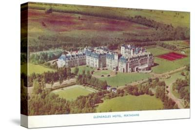 'Gleneagles Hotel, Perthshire', c1930-Unknown-Stretched Canvas Print