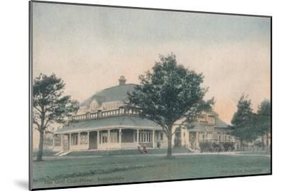 'The Golf Club House, Sunningdale', c1910-Unknown-Mounted Giclee Print