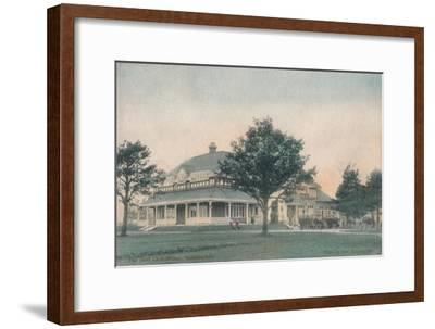'The Golf Club House, Sunningdale', c1910-Unknown-Framed Giclee Print