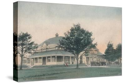'The Golf Club House, Sunningdale', c1910-Unknown-Stretched Canvas Print