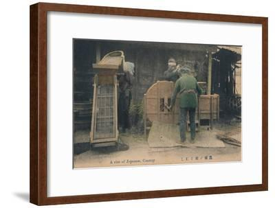 'A rice of Japanese, Country', c1910-Unknown-Framed Giclee Print