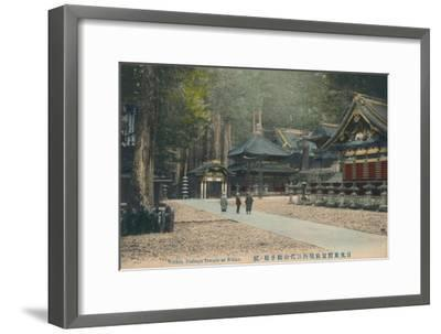 'Within Toshogu Temple at Nikko', c1900-Unknown-Framed Giclee Print