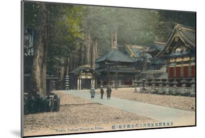 'Within Toshogu Temple at Nikko', c1900-Unknown-Mounted Giclee Print