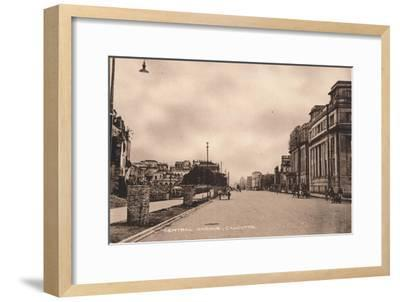 'Central Avenue, Calcutta', c1900-Unknown-Framed Giclee Print
