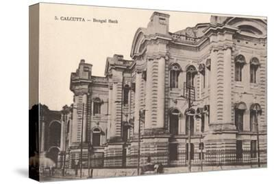 'Calcutta - Bengal Bank', c1900-Unknown-Stretched Canvas Print