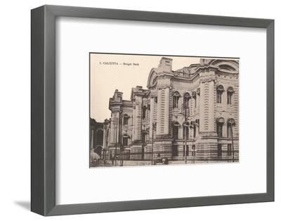 'Calcutta - Bengal Bank', c1900-Unknown-Framed Photographic Print