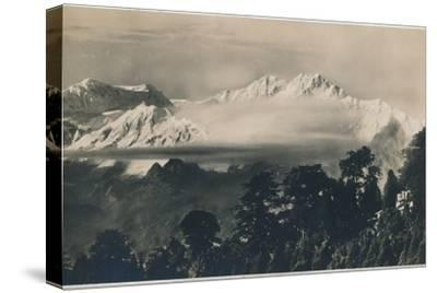 'Mighty Kinchinjunga', c1940-Unknown-Stretched Canvas Print