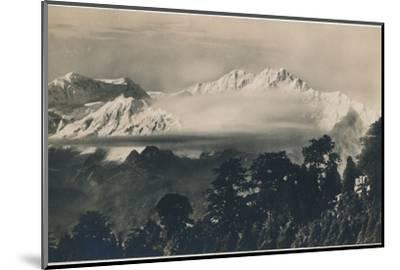 'Mighty Kinchinjunga', c1940-Unknown-Mounted Photographic Print