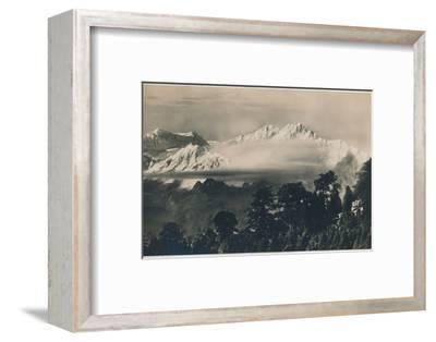 'Mighty Kinchinjunga', c1940-Unknown-Framed Photographic Print
