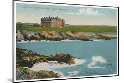 'Headland Hotel and Golf Links, Newquay', c1910-Unknown-Mounted Giclee Print