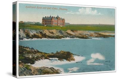 'Headland Hotel and Golf Links, Newquay', c1910-Unknown-Stretched Canvas Print
