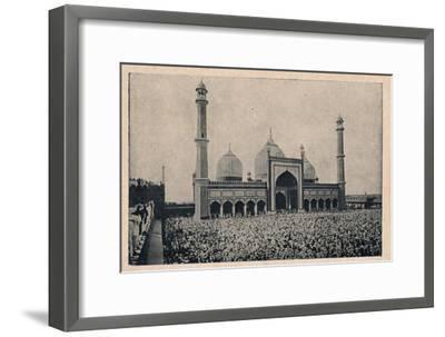 'Jama Masjid, Delhi', c1900-Unknown-Framed Giclee Print
