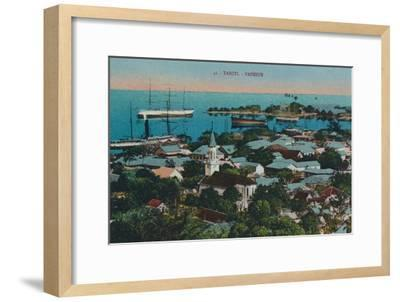 'Tahiti. Papeete', c1920-Unknown-Framed Giclee Print