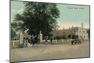 'Victoria Hotel Ambala', c1900-Unknown-Mounted Giclee Print